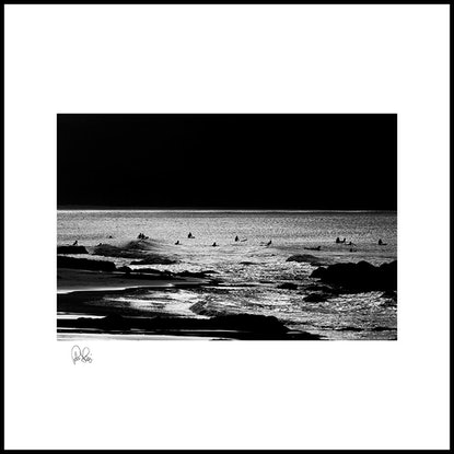 (CreativeWork) P 201 Midnight Surf  by Peter Henning. Photograph. Shop online at Bluethumb.