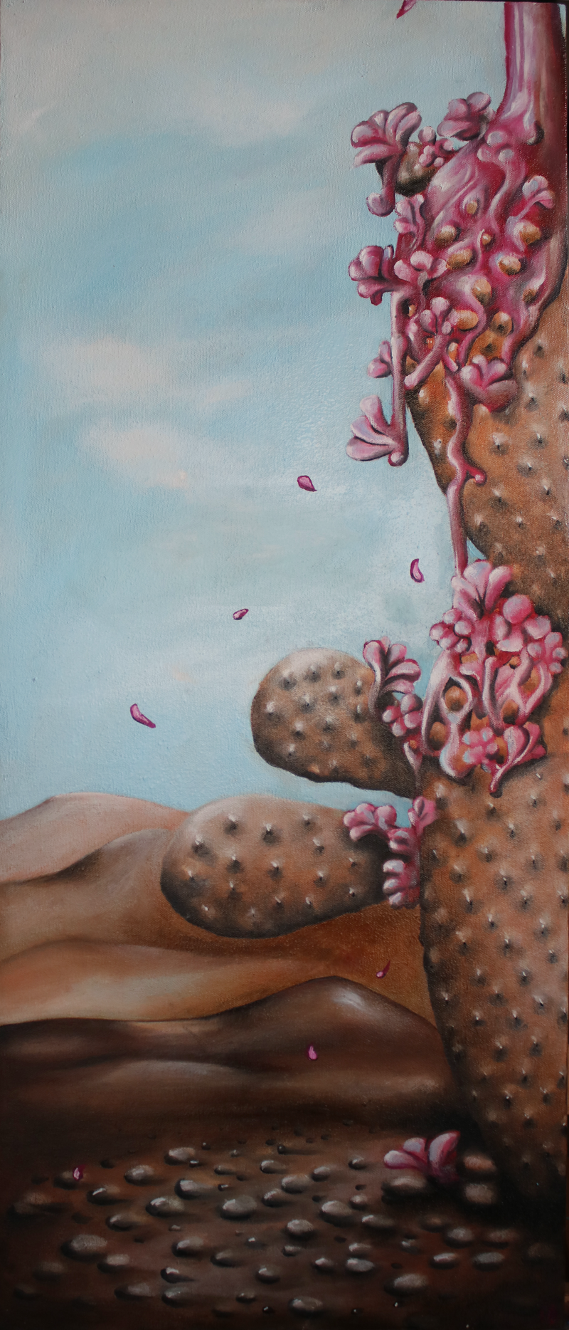 (CreativeWork) Special Edition by Vanessa Stefanova. Oil Paint. Shop online at Bluethumb.