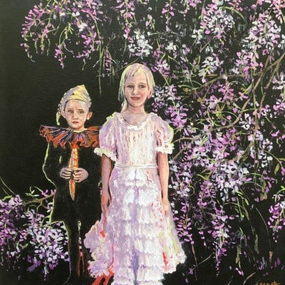 (CreativeWork) Fancy dress party by Sue Smith. #<Filter:0x00007fc18badc8a8>. Shop online at Bluethumb.