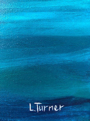 (CreativeWork) In Your Dreams by Lisa Turner. Acrylic Paint. Shop online at Bluethumb.