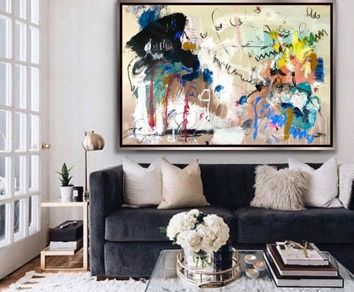 (CreativeWork) Love Anitdote by Shane Bowden. Acrylic Paint. Shop online at Bluethumb.
