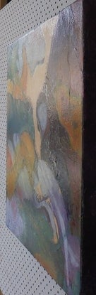 """(CreativeWork) """"Laminate"""" by Yvonne West. Mixed Media. Shop online at Bluethumb."""