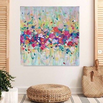 (CreativeWork) You bring me sunshine by Belinda Nadwie. Oil Paint. Shop online at Bluethumb.