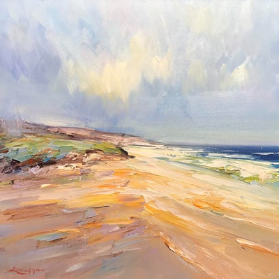 (CreativeWork) Fraser Island No 6 by Liliana Gigovic. Oil Paint. Shop online at Bluethumb.