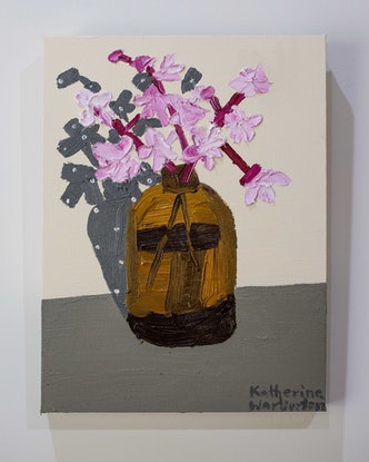(CreativeWork) February Shadows by Katherine Warburton. Oil Paint. Shop online at Bluethumb.