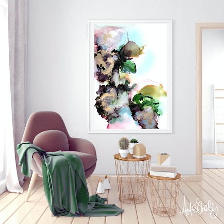 (CreativeWork) Metamorphosis  III by Michelle Drougas. Mixed Media. Shop online at Bluethumb.