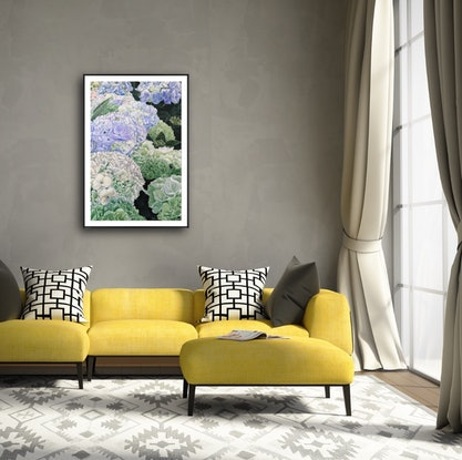 (CreativeWork) Have Faith In A Sunny Place - Limited Edition Print -A1 Large print  - Easy To Frame Ed. 5 of 100 by HSIN LIN. Print. Shop online at Bluethumb.