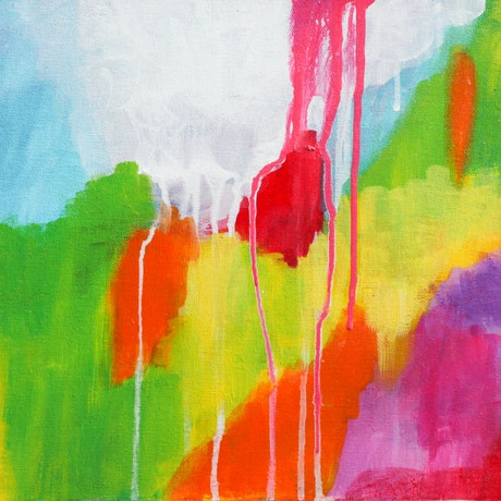 (CreativeWork) Reaching new heights by Arwen Flanagan. Acrylic Paint. Shop online at Bluethumb.