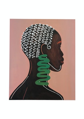 (CreativeWork) Nolwandle by Mafalda Vasconcelos. Oil Paint. Shop online at Bluethumb.