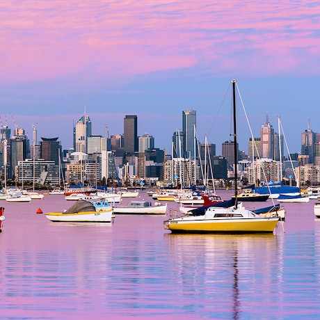 (CreativeWork) Melbourne Blush Ed. 8 of 200 by Nick Psomiadis. Photograph. Shop online at Bluethumb.