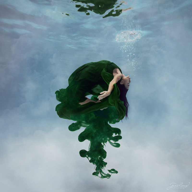 (CreativeWork) Ink - Emerald II Ed. 3 of 25 by Jane Long. Photograph. Shop online at Bluethumb.
