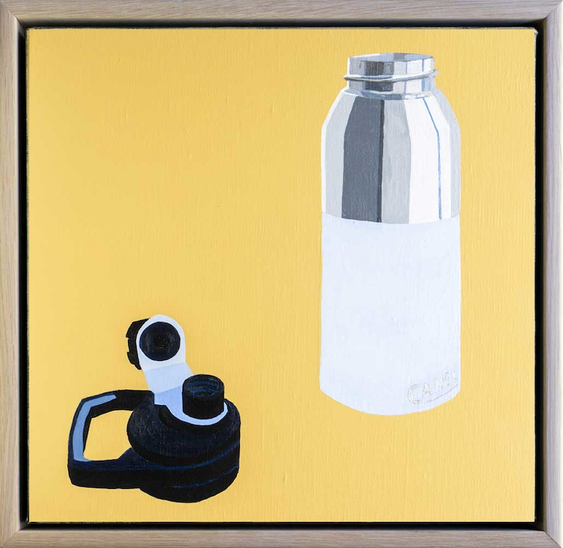(CreativeWork) Three Days Without Water by Steve Munro. Acrylic Paint. Shop online at Bluethumb.