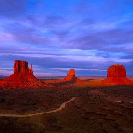 (CreativeWork) Monument Valley Ed. 11 of 100 by Nick Psomiadis. Photograph. Shop online at Bluethumb.
