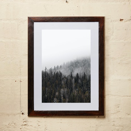 (CreativeWork) Winter Fog 4 Framed Ed. 1 of 20 by Penny Prangnell. Photograph. Shop online at Bluethumb.