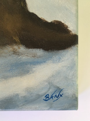 (CreativeWork) Siesta 3 by Banx aka Mike Banks. Acrylic Paint. Shop online at Bluethumb.
