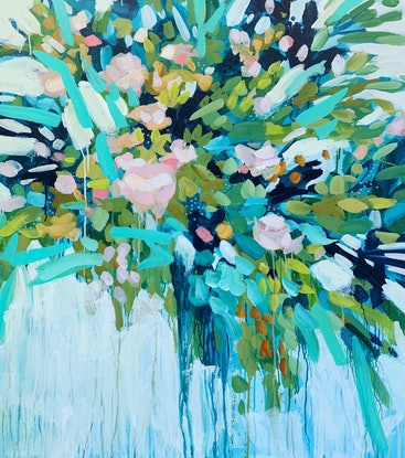 (CreativeWork) Birdsong by Clair Bremner. Acrylic Paint. Shop online at Bluethumb.