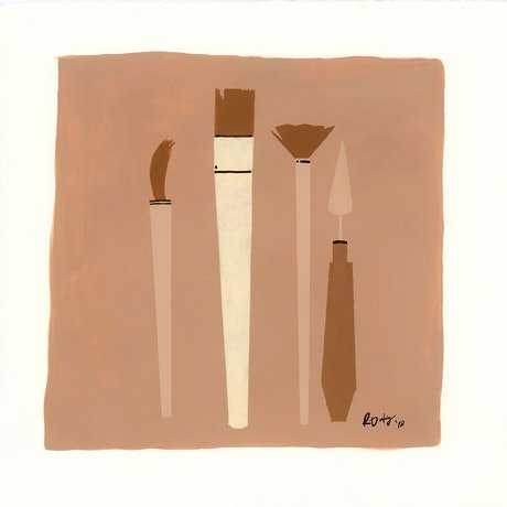 (CreativeWork) Tools Of The Trade by Rachelle Dusting. Drawings. Shop online at Bluethumb.