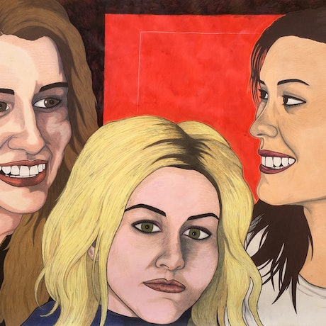 (CreativeWork) Ladies Night by Jolon Larter. Drawings. Shop online at Bluethumb.