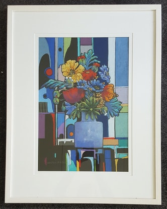 (CreativeWork) Embraced II by Helen Miles. Other Media. Shop online at Bluethumb.