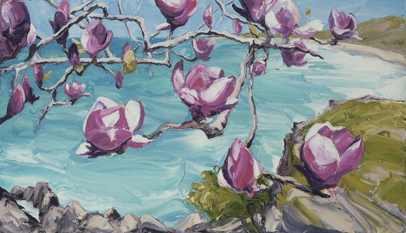 (CreativeWork) Magnolia Bay Ed. 3 of 100 by Steve Tyerman. Print. Shop online at Bluethumb.