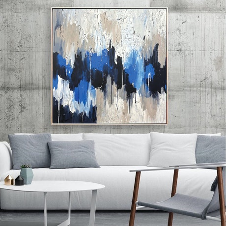 (CreativeWork) *ON SALE* Subliminal Things by Melanie Crawford. Acrylic Paint. Shop online at Bluethumb.