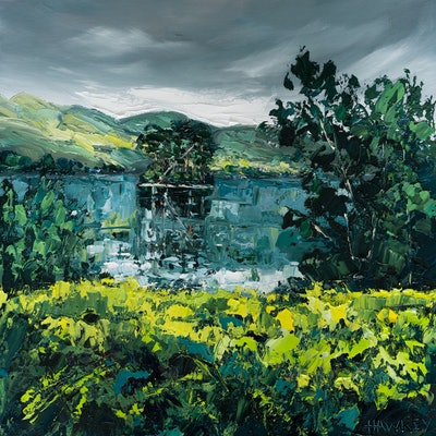 (CreativeWork) Scotland In My Heart by Angela Hawkey. Oil Paint. Shop online at Bluethumb.