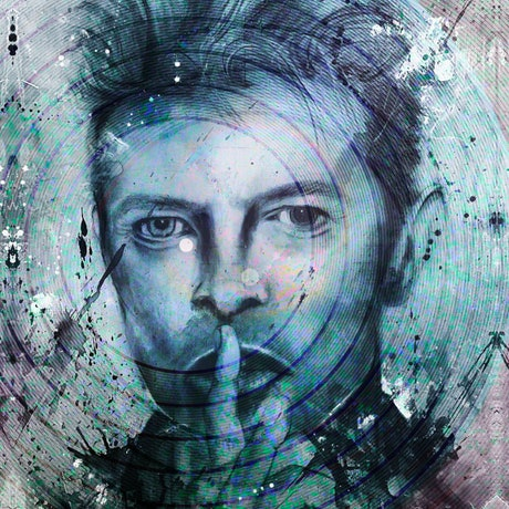 (CreativeWork) Bowie by RAWWR. Original artwork by Melissa LaBozzetta & Jo Adams creative by Melissa La Bozzetta. Other Media. Shop online at Bluethumb.