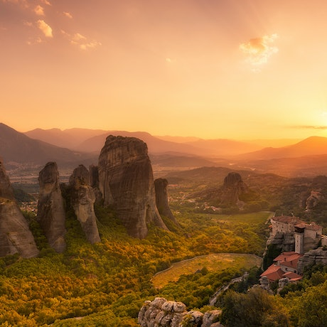 (CreativeWork) Meteora Ed. 11 of 200 by Nick Psomiadis. Photograph. Shop online at Bluethumb.