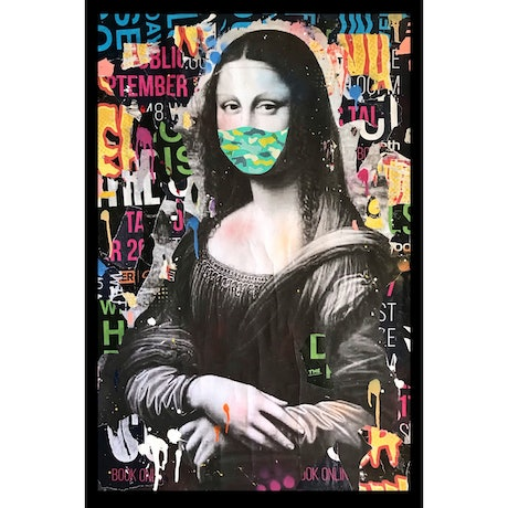 (CreativeWork) MONA XIX - Signed Print Ed. 1 of 30 by Cold Ghost. Print. Shop online at Bluethumb.