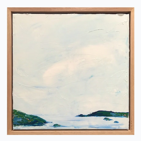 (CreativeWork) Inlet In Solitude  by Marnie McKnight. Oil Paint. Shop online at Bluethumb.