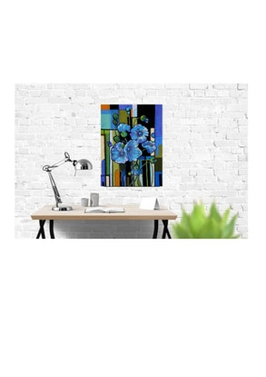 (CreativeWork) Blue Brink by Helen Miles. Other Media. Shop online at Bluethumb.