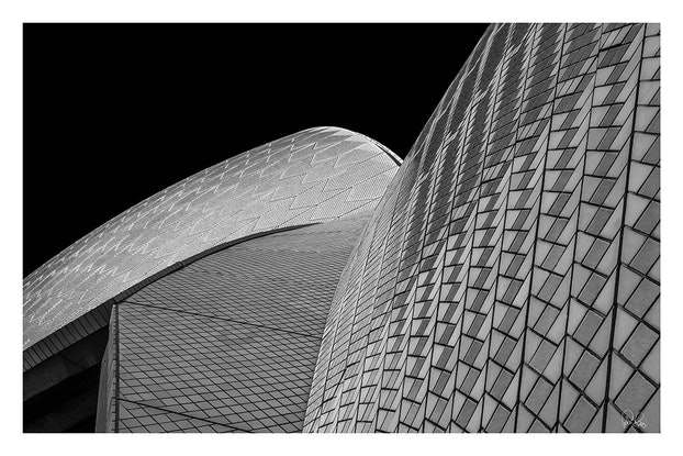 (CreativeWork) P 008 Sydney Opera roof Ed. 3 of 200 by Peter Henning. Photograph. Shop online at Bluethumb.