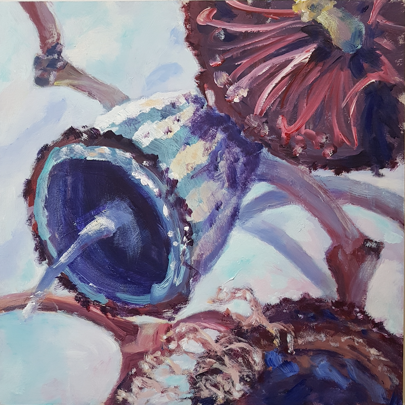 (CreativeWork) AFTER FLOWERS by Suzy Strout. Acrylic Paint. Shop online at Bluethumb.