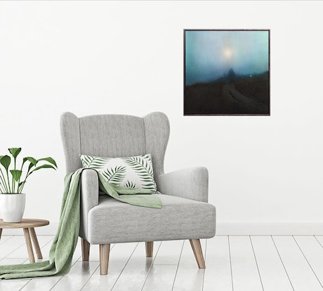 (CreativeWork) I'll Leave the Light On by Todd Simpson. Acrylic Paint. Shop online at Bluethumb.
