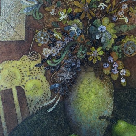 (CreativeWork) The Feel of Home by Jennifer O'Young. Mixed Media. Shop online at Bluethumb.