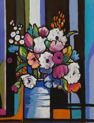(CreativeWork) Tin Can Posy by Helen Miles. Other Media. Shop online at Bluethumb.