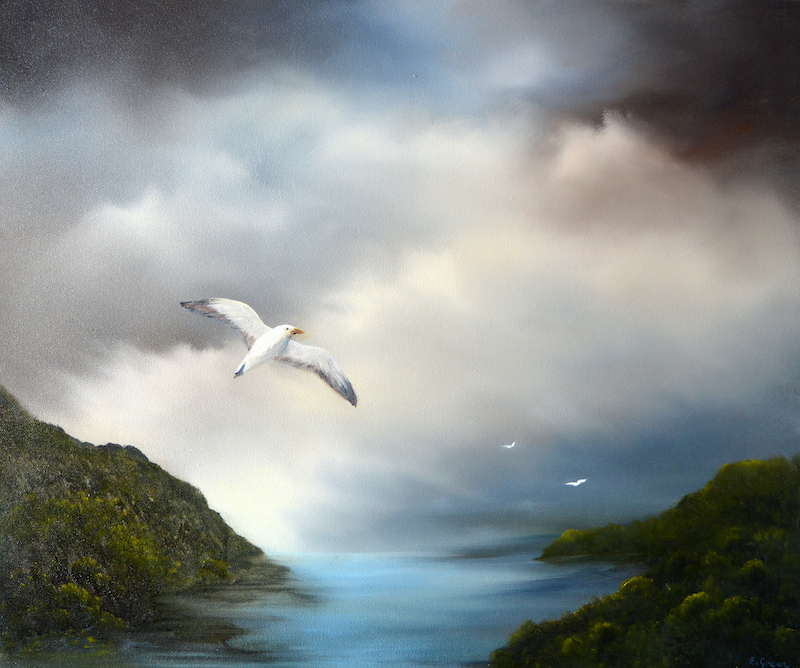(CreativeWork) Freedom by Elaine Green. Oil Paint. Shop online at Bluethumb.