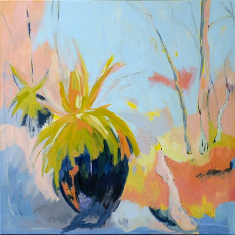 (CreativeWork) In a brighter light - I by Lydie Paton. Oil Paint. Shop online at Bluethumb.