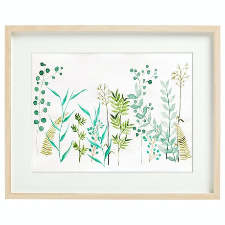 (CreativeWork) Oasis 1 by theplant _kingdom. Watercolour Paint. Shop online at Bluethumb.