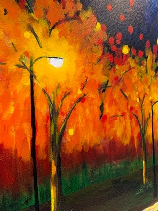 (CreativeWork) The Avenue by Tom Roso. Acrylic Paint. Shop online at Bluethumb.