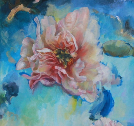 (CreativeWork) Providence by Kathryn Fenton. Oil. Shop online at Bluethumb.
