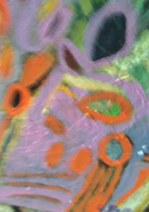 (CreativeWork) Spring  by linda buller. Acrylic Paint. Shop online at Bluethumb.