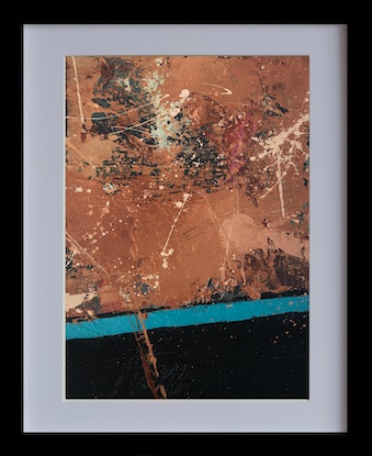 (CreativeWork) Gimme gimme this - Improvisational music series by Damien Venditti. Oil Paint. Shop online at Bluethumb.