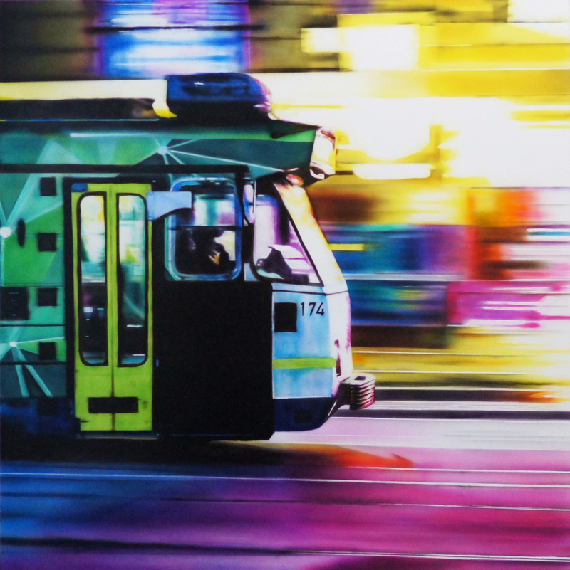 (CreativeWork) Warp Speed by Todd Simpson. Acrylic Paint. Shop online at Bluethumb.
