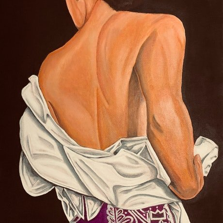 (CreativeWork) Matador - RONA by Javi Sanchez. Acrylic Paint. Shop online at Bluethumb.