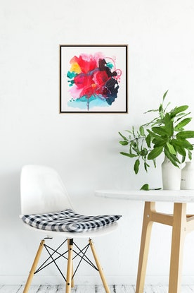 (CreativeWork) Dancing Brightly by Gareth Butcher. Acrylic Paint. Shop online at Bluethumb.