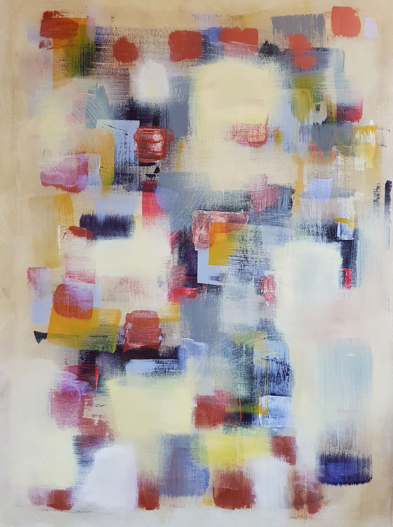 (CreativeWork) Untitled by Kevin Song. Acrylic Paint. Shop online at Bluethumb.