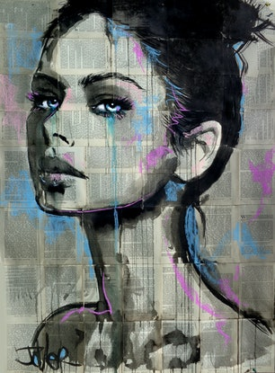 (CreativeWork) LIMITS by loui jover. Drawing. Shop online at Bluethumb.