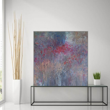 (CreativeWork) In A Dream by Andrea Edwards. Acrylic Paint. Shop online at Bluethumb.