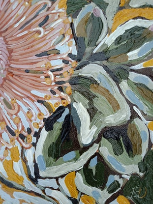 """(CreativeWork) """"SOUTHERN TROPICS"""" by Emily Day. Acrylic Paint. Shop online at Bluethumb."""